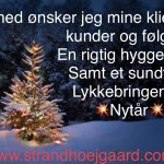 God jul og godt nytår